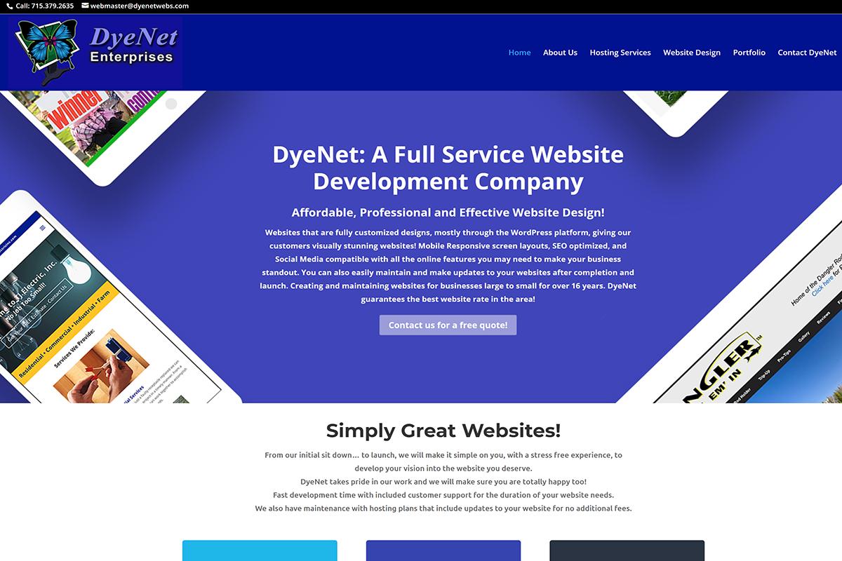 Portfolio - DyeNet Enterprises